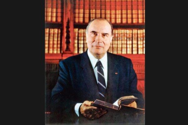François Mitterrand décédé le 08 Janvier 1996