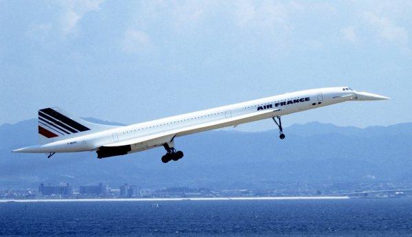 Nouveau record de vitesse pour le Concorde