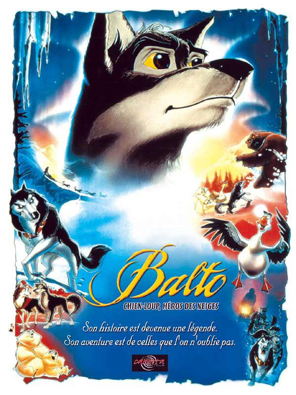 "Sortie en France du dessin animé ""Balto""."