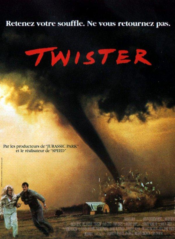 """Sortie en France du film """"Twister""""."""