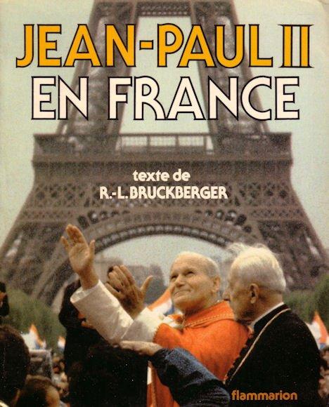 Début de la visite de Jean-Paul II en France le 19 Septembre 1996.