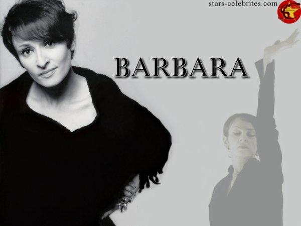 Décès de la chanteuse Barbara à l'âge de 67 ans.