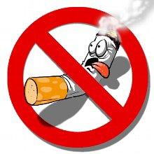 En Californie mise en application de la loi interdisant de fumer dans tous les restaurants, bars et cafés.