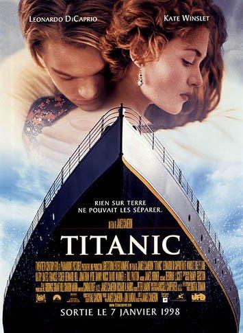 "Sortie en France du film ""Titanic"""