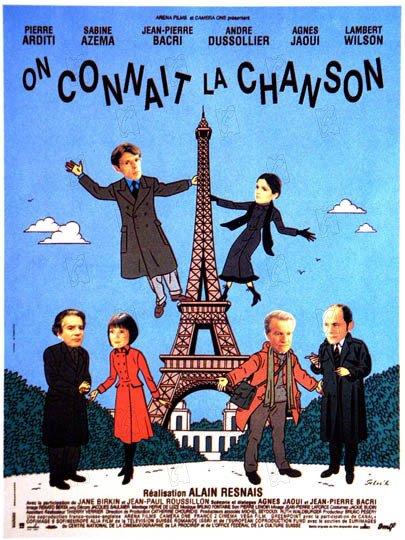 """Le film d'A. Resnais, """"On connaît la chanson"""" décroche 7 césars."""