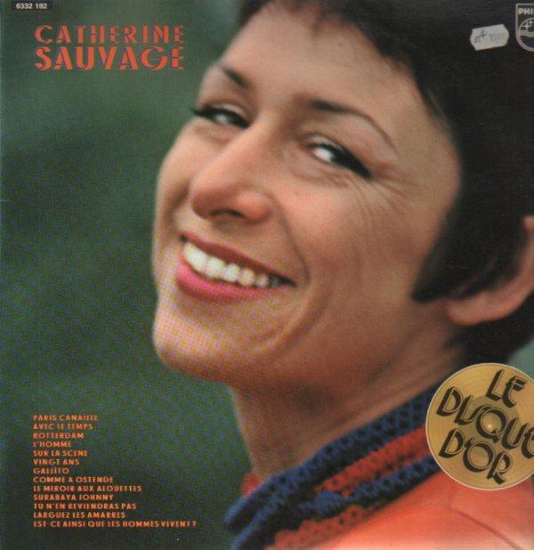 Décès de la chanteuse française Catherine Sauvage