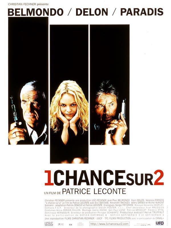 """Sortie en France du film """"1 chance sur 2""""."""