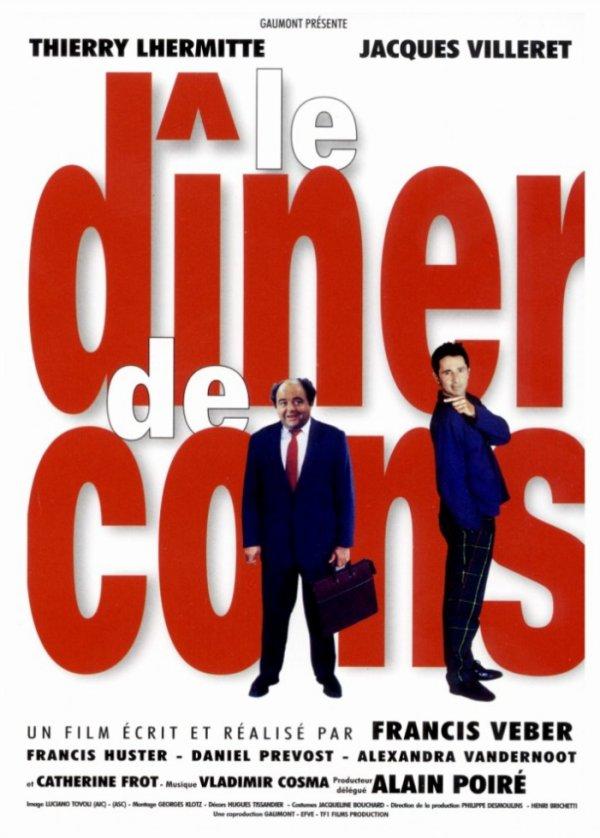 """Sortie en France du film """"Le dîner de cons""""."""