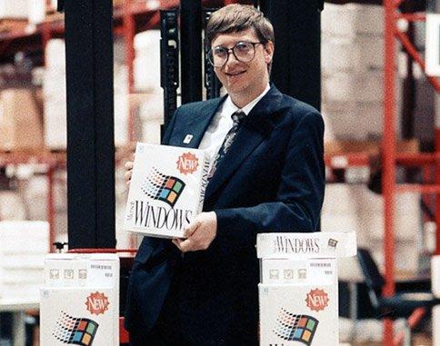 1990–1994 : Windows 3.0–Windows NT, apparition des graphismes