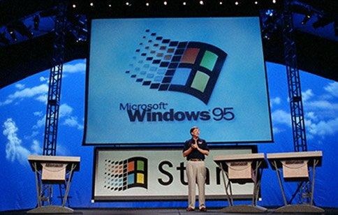 1995–1998 : Windows 95, le PC arrive à maturité (sans oublier Internet)