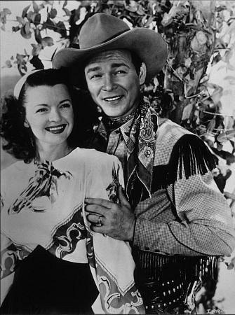 """Décès de l'acteur et chanteur Roy Rogers, le """"roi des cow-boys""""."""
