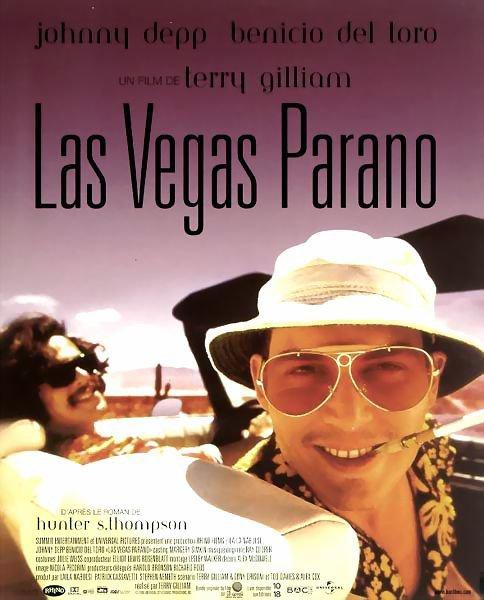"Sortie en France du film ""Las Vegas parano""."