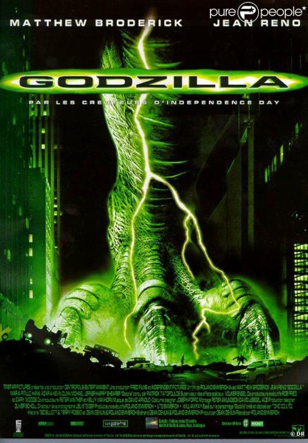 """Sortie en France du film """"Godzilla"""""""