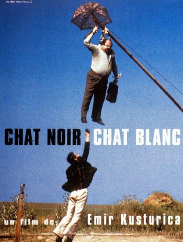 """Sortie en France du film """"Chat noir, chat blanc""""."""