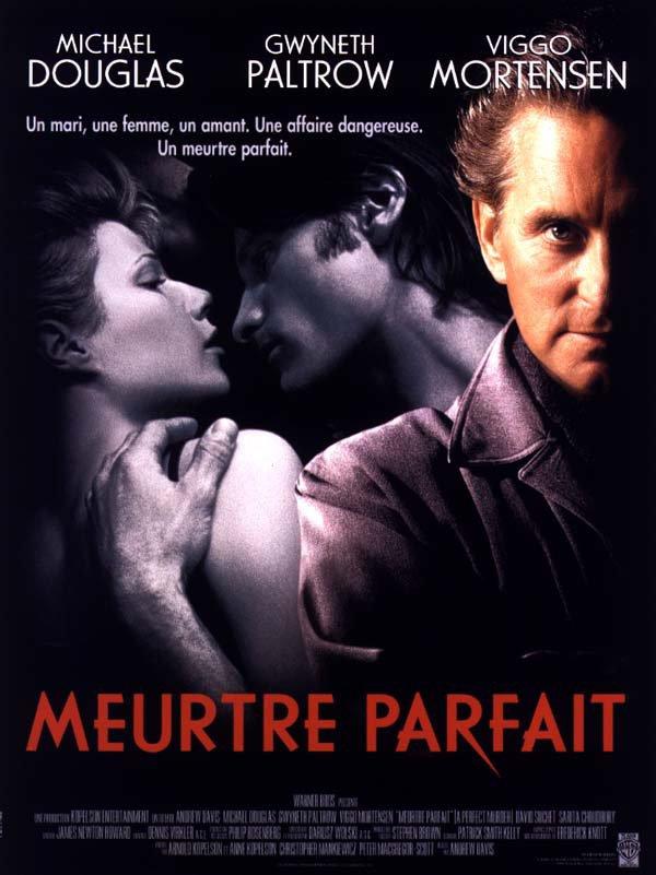 """Sortie en France du film """"Meurtre parfait""""."""