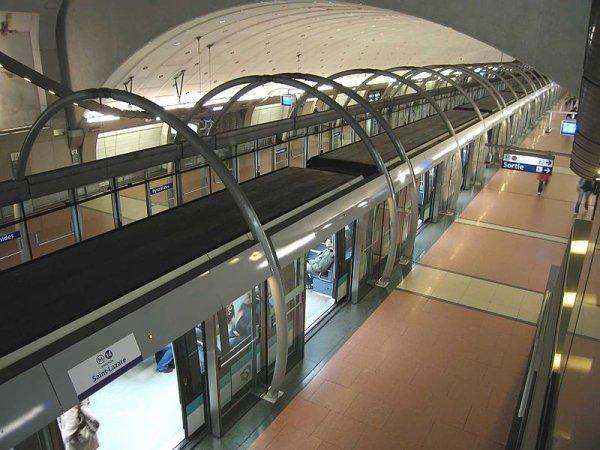 A Paris, inauguration de la nouvelle ligne de métro : Météor