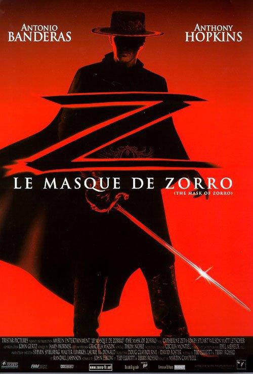 """Sortie en France du film """"Le masque de Zorro"""""""