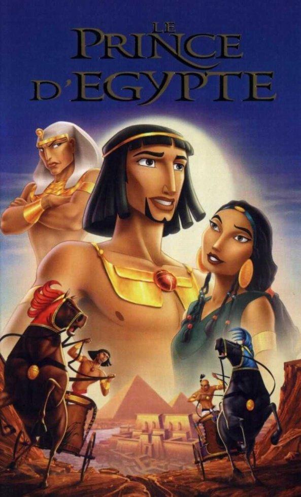 """En France, sortie du """"Prince d'Égypte"""", premier dessin animé du studio DreamWorks."""