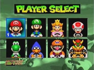 Mario Kart sur la Nintendo 64, qui avait ce jeu?