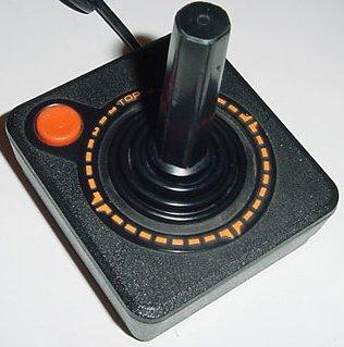 Le joystick d'Atari