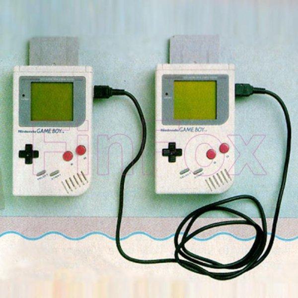 Le fil pour raccorder les Game Boy