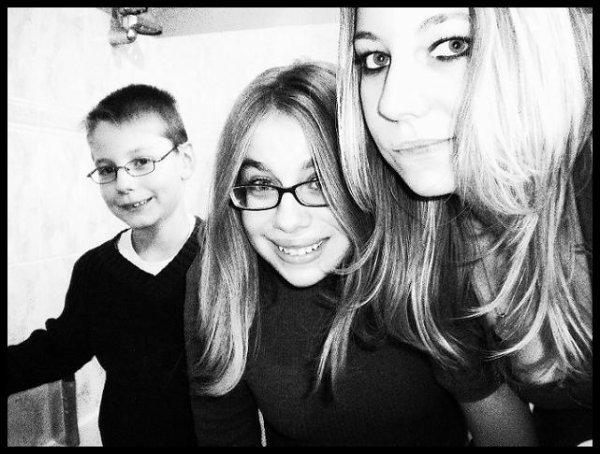 mon frére et ma soeur