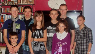 Nous 13.11.10 ! ..  ♥     _   Dylan , Killian , Jordan , Noemie (moi)  , Thomas , Nicolas  , Marine  , Ophelie .. ! ♥