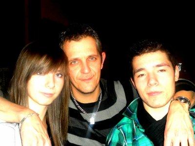 Moah , Papa et Jordan ! =D