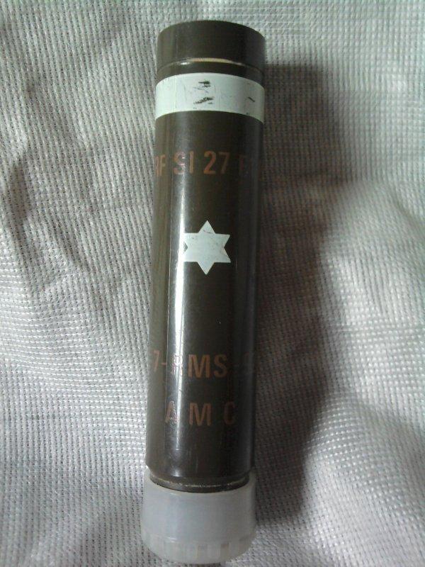 tube lance fusée eclairante il y a marquer (arf si 27 f1 bl 7-rms-92 a m c)