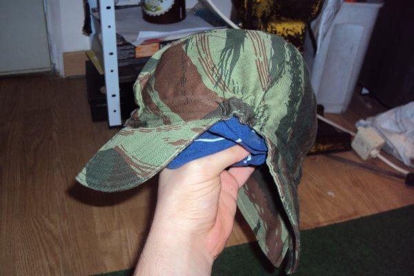 béret + casquette Bigeard guerre d' Algérie