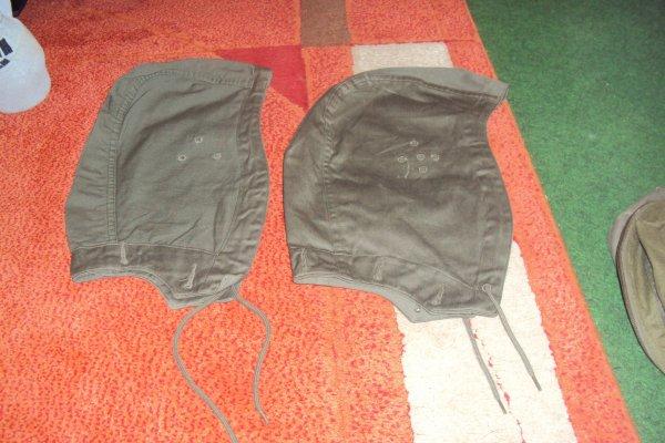 veste + 2 modèle de capuche différentes