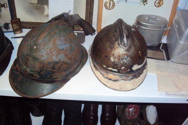 casque adrian artillerie ww1