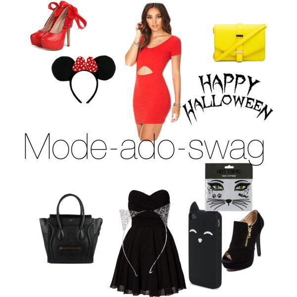 Tenue swag halloween Tenue swag explication idees originales