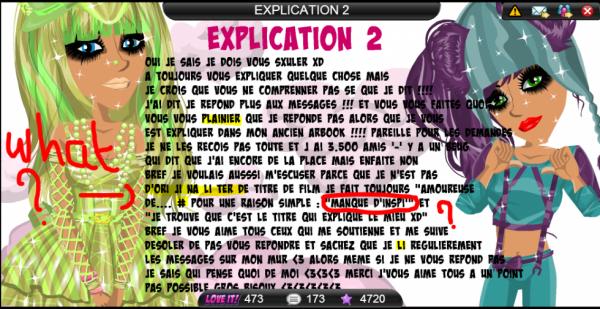 LES EXPLICATIONS 2 DE FABINOUCHE