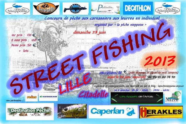STREET FISHING LILLE 2013