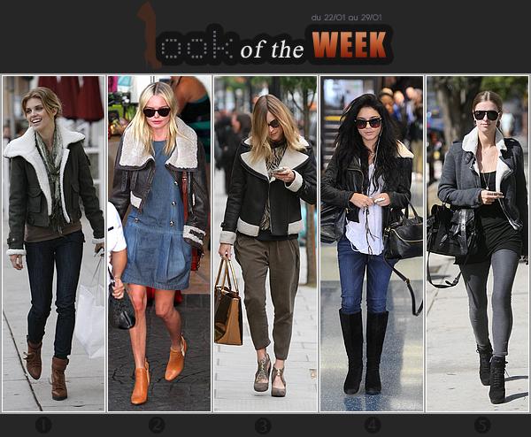 _____LOOK of the WEEK_|_Le bombardier