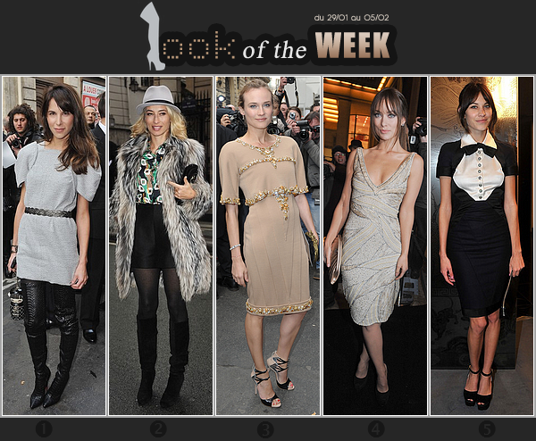 _____LOOK of the WEEK_|_La plus belle durant la semaine de la  Haute Couture