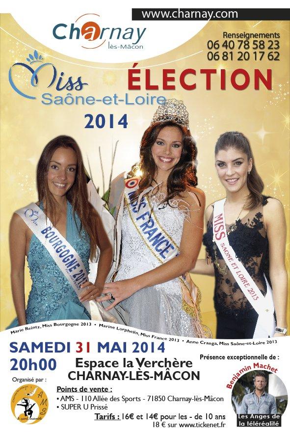 Elections Miss Saône Et Loire avec Marine Lorphelin