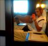 """03/08/12 ● Rémy a ajouté une photo sur Twitter en disant: """"À Barcelona Jajaja 🇪🇸 ®©"""""""