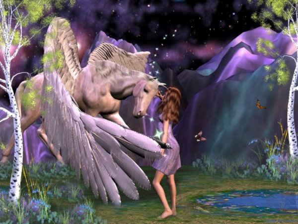 Au pays du rêve et des fées...