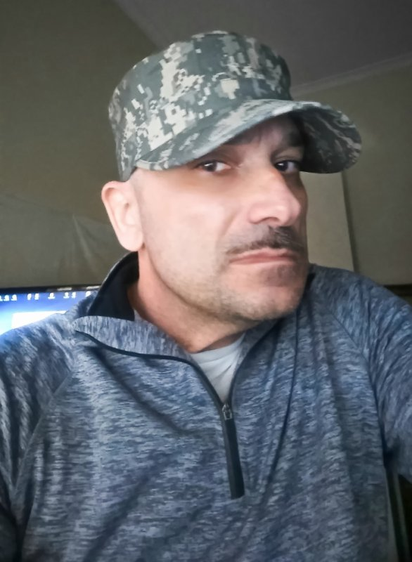 John Torcasio: Wearing a Patrol Cap