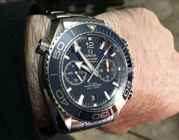 John Torcasio: Omega Planet Ocean Chronograph