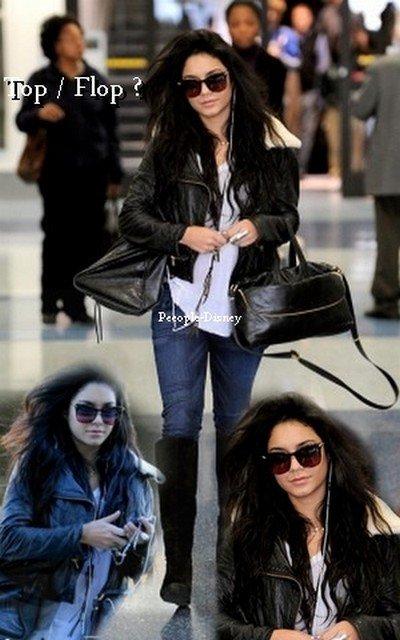13 Janvier : Vanessa arrivant à LAX. Pour moi c'est unTop