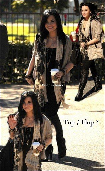 29 Janvier  : Demi enfin sortie :D dans Santa Monica. Pour moi c'est un Top
