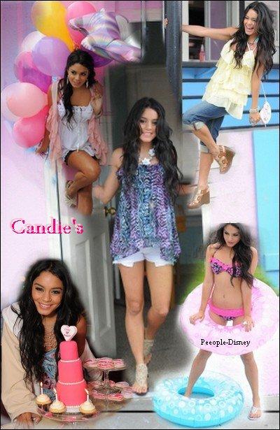 Vanessa pour Candie's. Elle est magnifique   $)  j'adore !