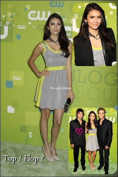 19 Mai : Nina, Ian ♥ et Paul était présent au CW Upfront 2011. Pour moi c'est Top même si je suis pas tres fan des couleurs
