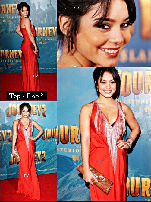17 Janvier : Vanessa a l'avant premiere de Journey 2 à Sidney. Pour moi c'est un énorme Top. Sa robe est juste magnifique et j'aime beaucoup sa coiffure  $)