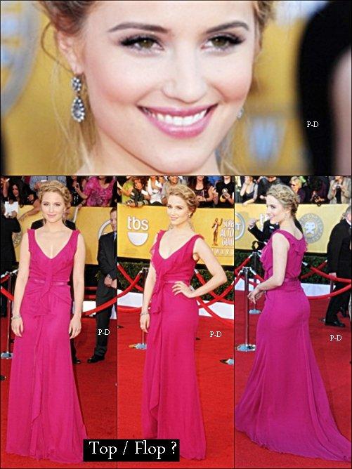 29 Janvier: Diana au 18th Annual Screen Actors Guild Awards. Pour moi c'est un beau Top, sa robe est trop belle et j'aime beaucoup la couleur, sa coiffure aussi j'adore   ;)