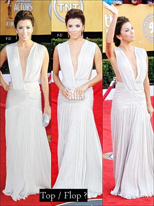 Flashback 30 Janvier 2011: Eva au 17ème Screen Actors Guild Awards. Pour moi c'est un beau Top, elle est vraiment magnifique dans cette sublime robe   ^^