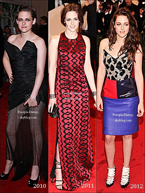 7 Mai: Kristen était au Met Gala 2012. Pour moi c'est Flop, j'aime pas sa robe et ses chaussures, j'aime bien juste son makeup et ses cheveux  :(